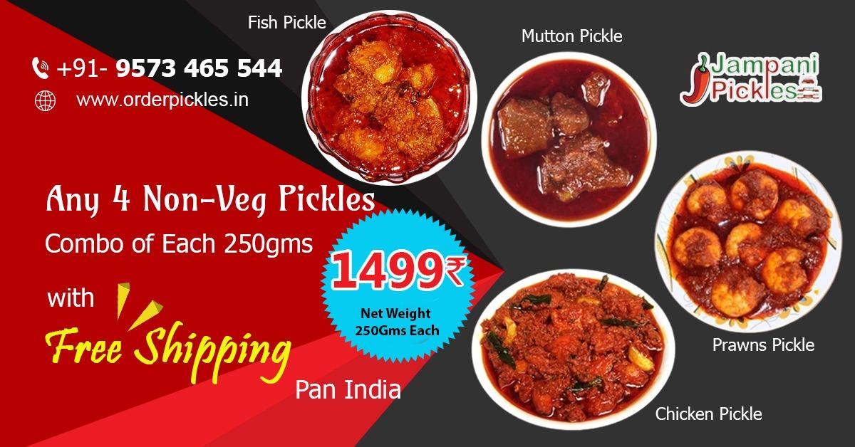 non veg pickles combo